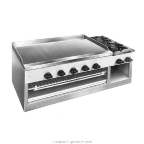 Comstock Castle 11201B Griddle Hotplate Counter Unit Gas