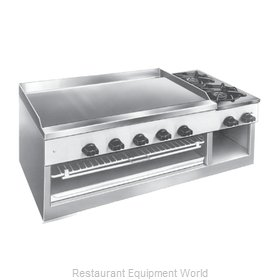 Comstock Castle 11301B Griddle / Hotplate, Gas, Countertop