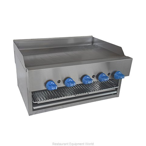 Comstock Castle 1140B Griddle Overfire Broiler Gas Counter
