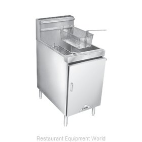 Comstock Castle 18HF Fryer, Gas, Floor Model, Full Pot