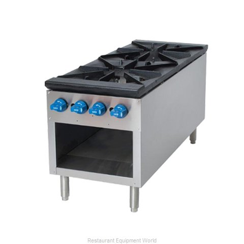 Comstock Castle 2CSP18 Range, Stock Pot, Gas