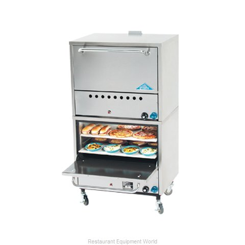 Comstock Castle 2PO19 Pizza Oven Deck-Type Gas