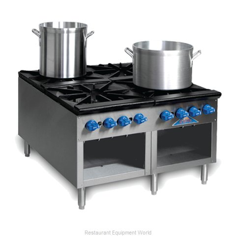 Comstock Castle 2SP54 Stock Pot Range Gas