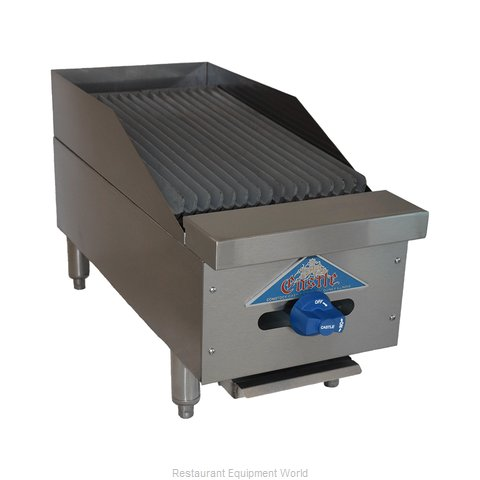 Comstock Castle 3212RB Charbroiler, Gas, Countertop