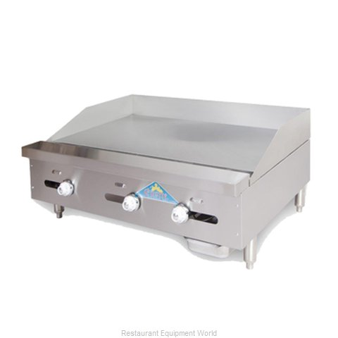 Comstock Castle 3224TG Griddle Counter Unit Gas (Magnified)
