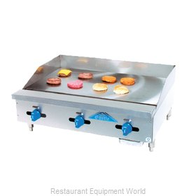 Comstock Castle 3236MG Griddle, Gas, Countertop