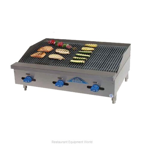 Comstock Castle 3236RB Charbroiler Gas Counter Model