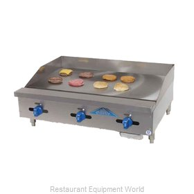 Comstock Castle 3248MG Griddle, Gas, Countertop