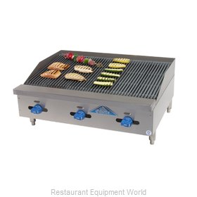 Comstock Castle 3260RB Charbroiler, Gas, Countertop