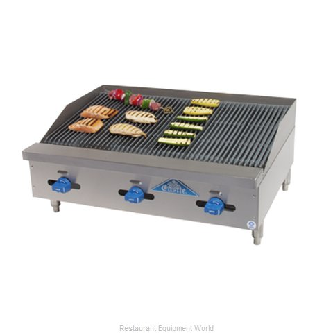 Comstock Castle 3272RB Charbroiler, Gas, Countertop