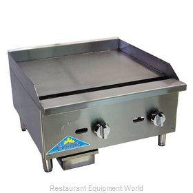 Comstock Castle CCEGT36 Griddle, Gas, Countertop