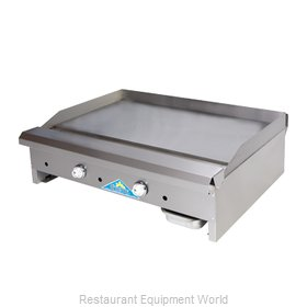Comstock Castle EG30-T Griddle, Gas, Countertop