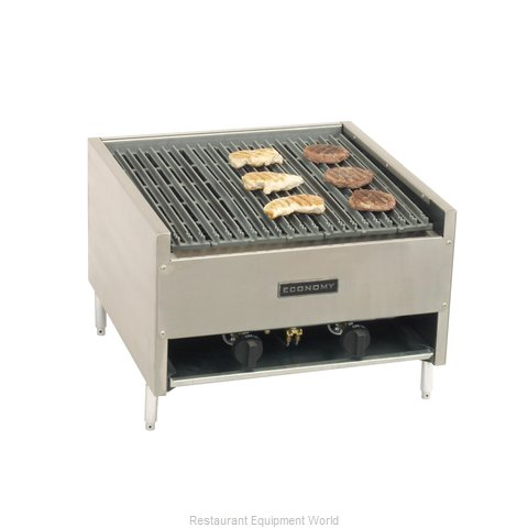 Comstock Castle ELB24 Charbroiler, Gas, Countertop (Magnified)
