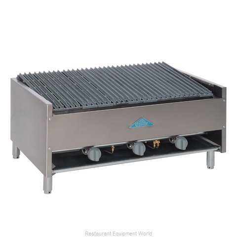 Comstock Castle ELB36 Charbroiler Gas Counter Model