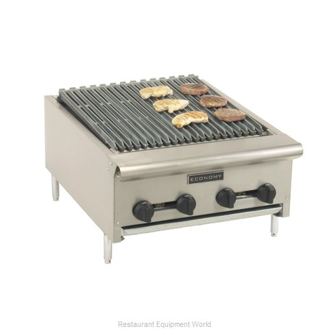 Comstock Castle ERB18 Charbroiler Gas Counter Model