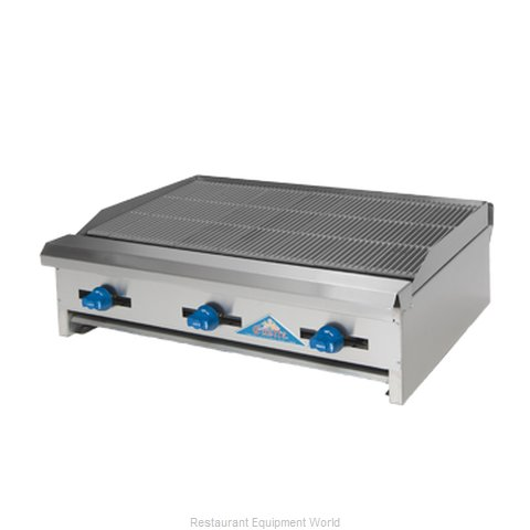 Comstock Castle ERB24 Charbroiler Gas Counter Model