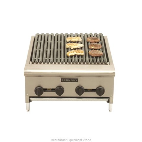Comstock Castle ERB36 Charbroiler, Gas, Countertop (Magnified)