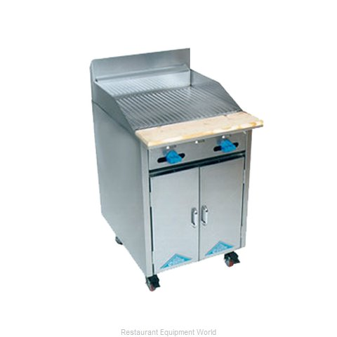 Comstock Castle F32-2RB Charbroiler Gas Restaurant Range Match