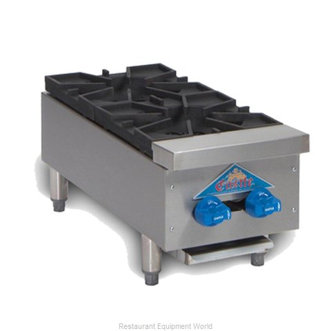 Comstock Castle FHP12 Hotplate, Countertop, Gas (Magnified)