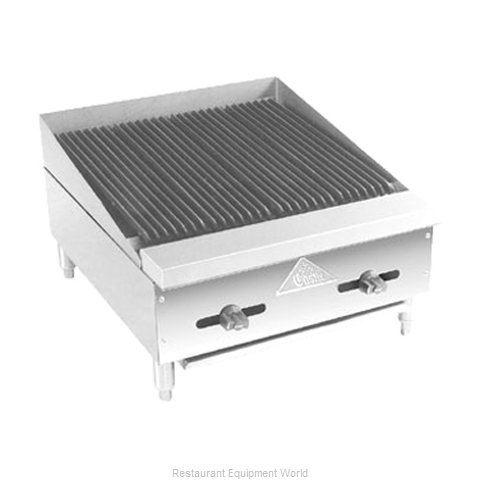Comstock Castle FHP18-1.5RB Charbroiler Gas Counter Model