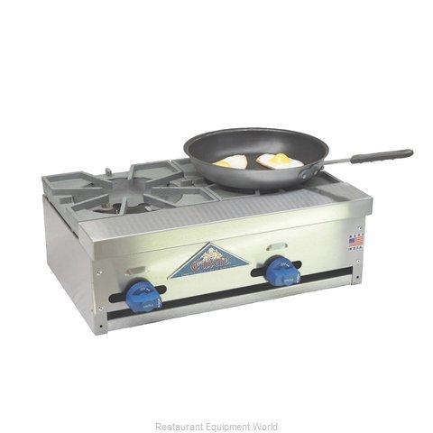 Comstock Castle FHP24-1LB Charbroiler / Hotplate, Gas, Countertop