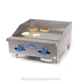 Comstock Castle FHP24-24 Griddle, Gas, Countertop