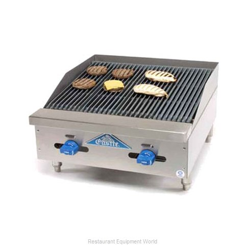 Comstock Castle FHP24-2LB Charbroiler Gas Counter Model