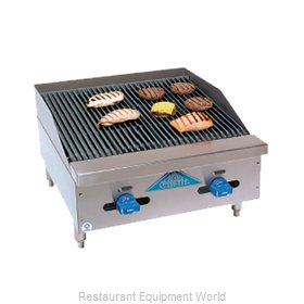 Comstock Castle FHP24-2RB Charbroiler, Gas, Countertop