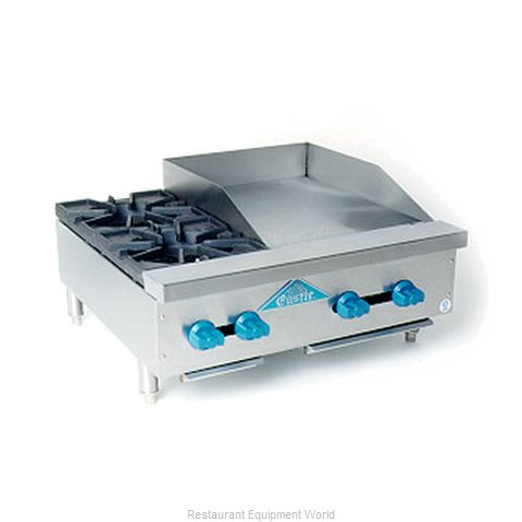 Comstock Castle FHP30-18 Griddle Hotplate Counter Unit Gas