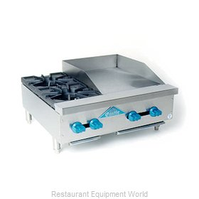 Comstock Castle FHP30-18 Griddle / Hotplate, Gas, Countertop