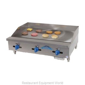 Comstock Castle FHP30-30 Griddle, Gas, Countertop