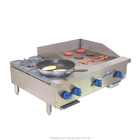 Comstock Castle FHP36-24 Griddle / Hotplate, Gas, Countertop