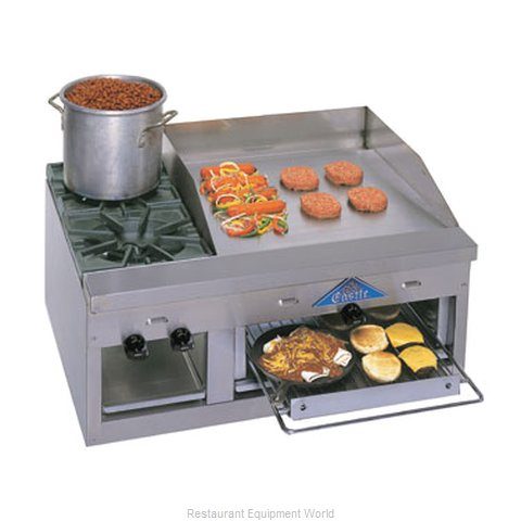 Comstock Castle FHP36-24B Griddle / Hotplate, Gas, Countertop