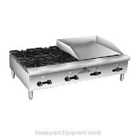 Comstock Castle FHP36-24T Griddle / Hotplate, Gas, Countertop