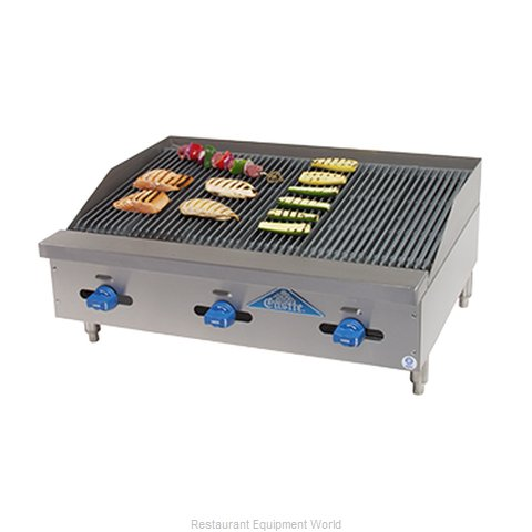 Comstock Castle FHP36-3LB Charbroiler, Gas, Countertop (Magnified)