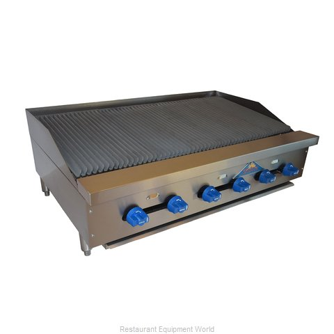 Comstock Castle FHP42-3.5LB Charbroiler Gas Counter Model