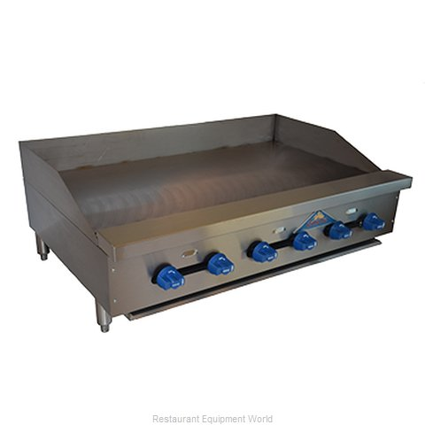 Comstock Castle FHP42-42 Griddle Counter Unit Gas