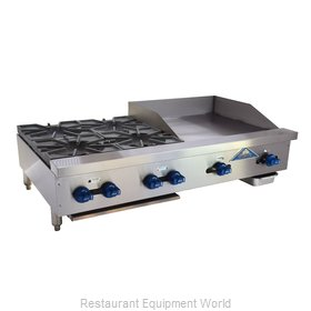 Comstock Castle FHP48-24 Griddle / Hotplate, Gas, Countertop