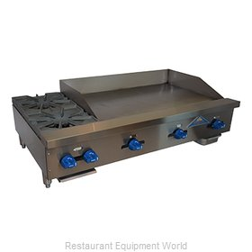 Comstock Castle FHP48-36T Griddle / Hotplate, Gas, Countertop