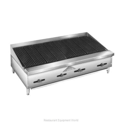 Comstock Castle FHP48-4LB Charbroiler Gas Counter Model