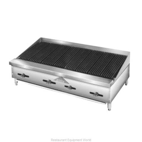 Comstock Castle FHP48-4RB Charbroiler Gas Counter Model