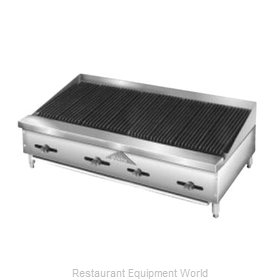 Comstock Castle FHP48-4RB Charbroiler, Gas, Countertop