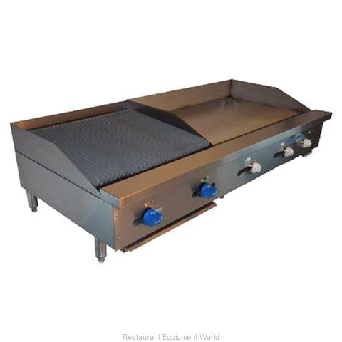 Comstock Castle FHP60-36T-2LB Griddle / Charbroiler, Gas, Countertop