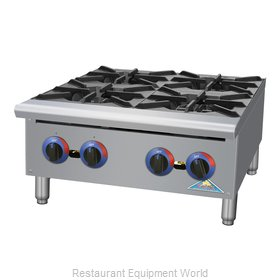 Comstock Castle HP24 Hotplate, Countertop, Gas