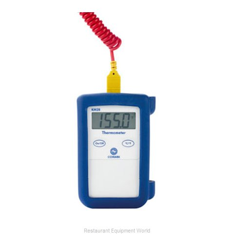 Comark Fluke KM28B Thermometer, Thermocouple (Magnified)