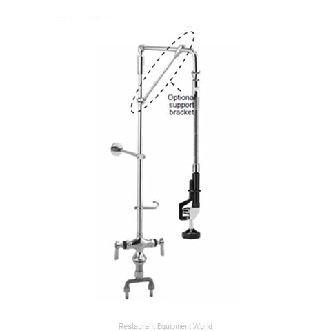 Component Hardware KL50-5526-18 Pre-Rinse Faucet Assembly