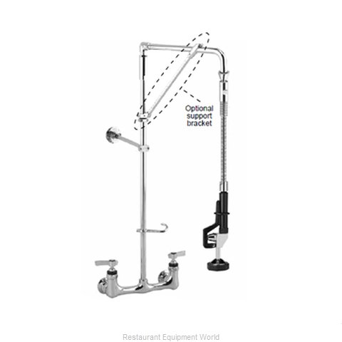 Component Hardware KL53-5526-12 Pre-Rinse Faucet Assembly