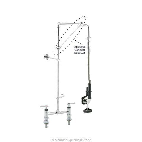 Component Hardware KL60-5026-12 Pre-Rinse Faucet Assembly