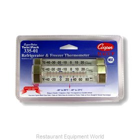 Cooper Atkins 335-01-2 Thermometer, Refrig/Freezer