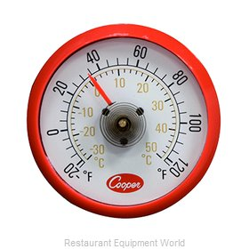 Cooper Atkins 535-0-8 Thermometer, Refrig/Freezer
